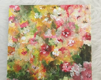 Warm Floral Painting