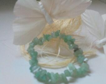 Aventurine magnetised stones bracelet