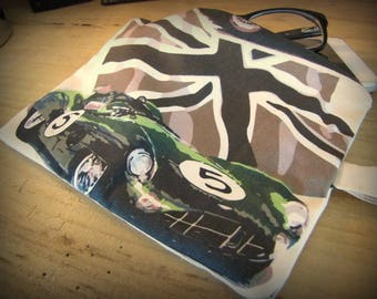 Case of arrangement with pattern Aston Martin n ° 5 by deco cars