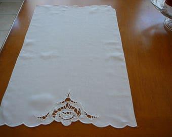 Vintage table or dresser linen