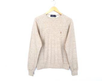 Polo Ralph Lauren Small Pony Embroidery Pullover Jumper Sweatshirt