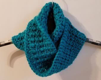 Infintity Scarf / Cowl with Matching Headband