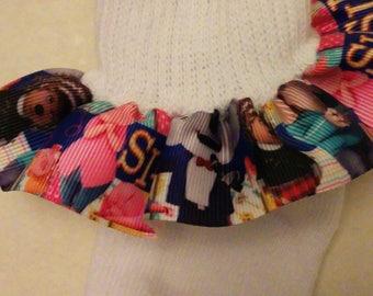 Sing ruffle socks, infant ruffle socks, character socks, musical ruffle socks, animal ruffle socks, baby socks, birthday socks