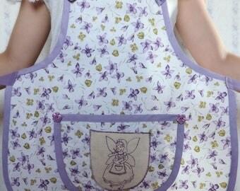 Flower girl apron