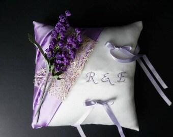mauve, purple ring bearer
