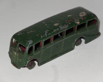 VINTAGE DINKY Toys Green Luxury COACH