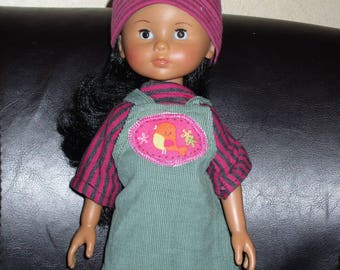 33 cm doll honey Corolla dress velvet Jersey Hat