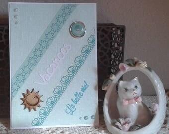 "Holiday card ""the good life"""