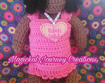 Handcrafted Crochet Doll