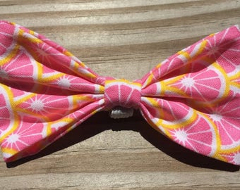 Pink Summer Grapefruit Bow
