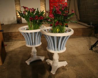 Wooden Flower Pot Stand
