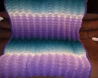 "The ""Mermaid"" Afghan"
