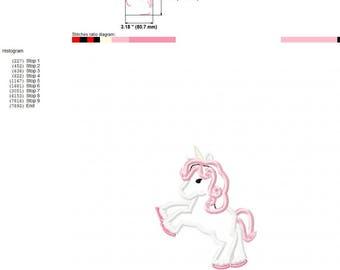 Unicorn aplique