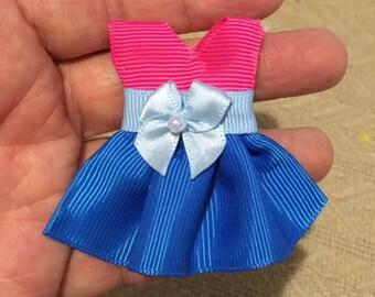Little dress hair bow