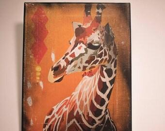 Giraffe 8x10 Wall Art