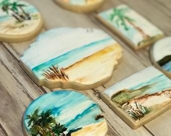 Beach Cookies- Set of 7