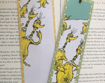 The Sneeches by Dr. Seuss Bookmarks