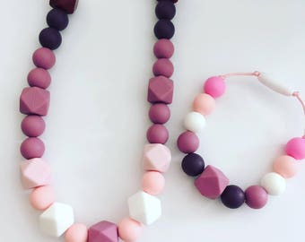 Nursing Necklace / Teething Necklace / Unique Gift