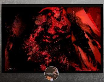 Demon - original photo art picture