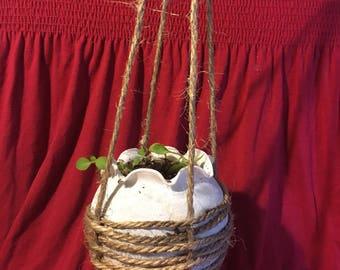 Weaved Hanging Planter
