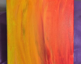 Orange Abstract 3