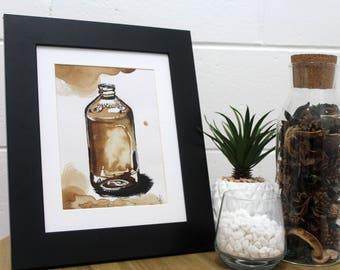 Bundaberg - Coffee Painting