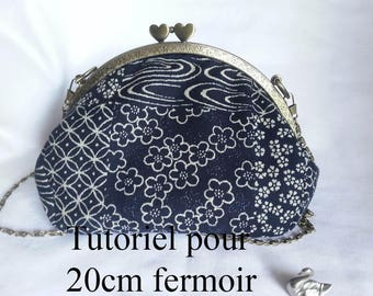 tutorial for clasp 20cm for large bag