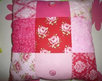 cushion fabric way patchwork liberty