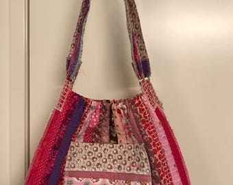 Shades of Pink Quilted Bag