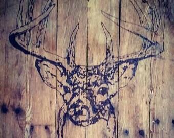 Deer Wood Sign