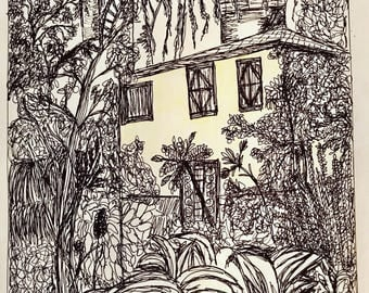 Yellow House in the Jungle