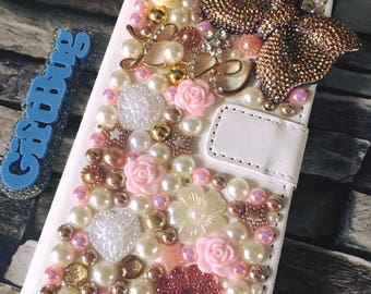 Custom Rose Gold Phone Case Made To Order
