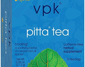 Cooling Organic Pitta Herbal Tea | 16 Tea Bags