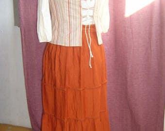 Costume: Set style medieval Orange