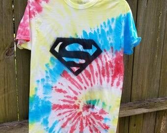 Superman Tie Dye
