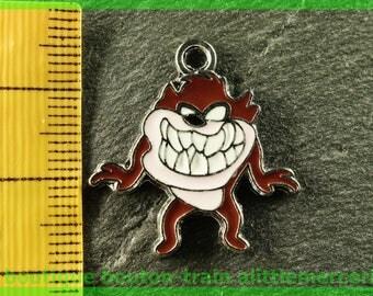 cartoon silver charm pendant
