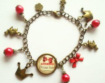 """""""Princess Voodoo"""" bronze bracelet"""