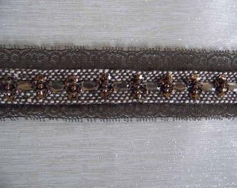 Stripe jacquard wool beaded SKU: 13001
