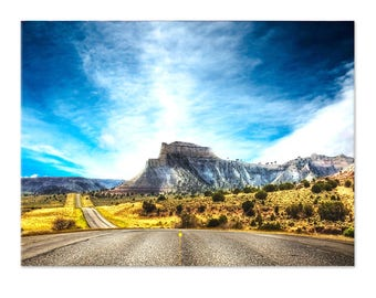 Table Route 66, photomontage digital art, wall painting, digital art, digital art print