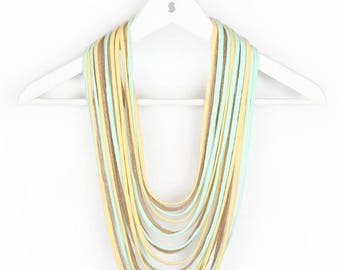 Summer Colored Scarf-lace