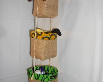 Baskets hanging Organizer wax 13003