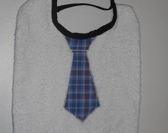 very nice tie for little boy bib