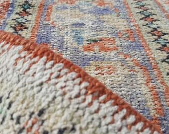 Anatolian Carpet Rug, Turkish Handwoven Rug, Antique Carpet, Unique Size,Turkish Carpet