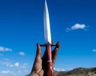 Hand Forged Blacksmith Made Dagger