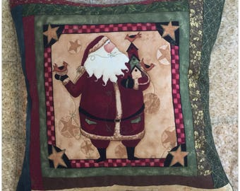 Santa #4 Christmas Cushion Cover