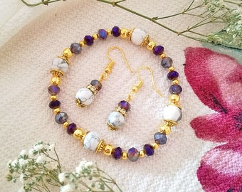 Handmade Crystals Jewelry Set 02