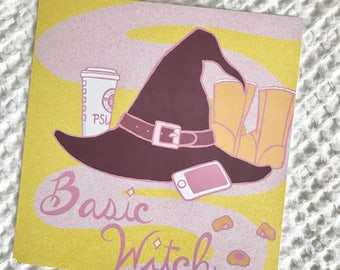 Basic Witch Print