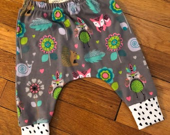 Baby Harem Pants Size 0-3 months