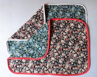 Set of 2 placemats matching - cotton