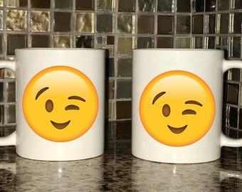 Mug - Winking Emoji